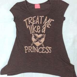 Treat Me Like A Princess Blouse