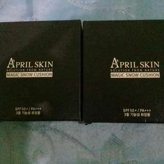 April Skin Magic Snow Cushion.