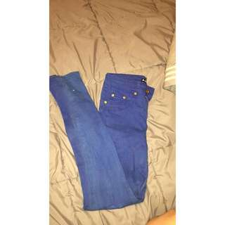 blue chicabooti jeans size 8
