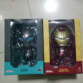 Bubble Head Iron Man & Ultron