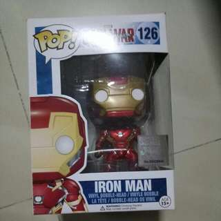 Bubblehead Iron Man