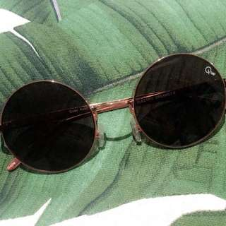 Quay Rounded Sunnies