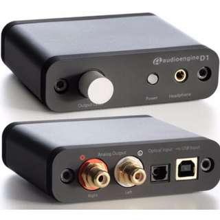 AudioEngine D1 24-Bit DAC w/ Headphone Amplifier