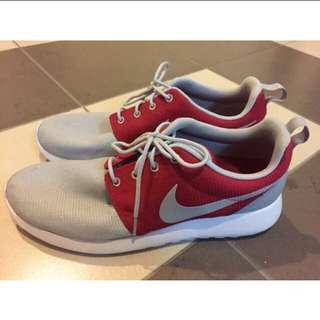 Authentic Nike Roshe Run (Red&Grey)