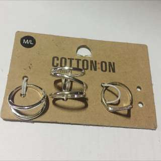 Cotton On Ring