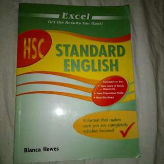 Excel HSC Standard English Textbook