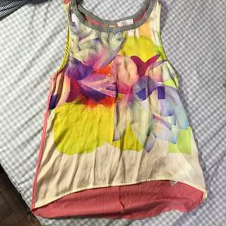Zara Sleeveless Top Blouse