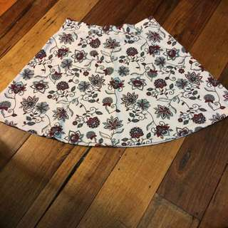 Floral Skirt (negotiable)