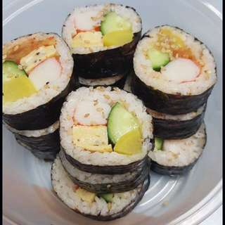 Freshly Made Kimbap