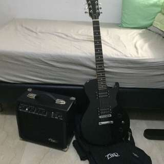 Guitar & Amp Combo (As Listed)