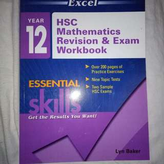 Excel hsc Math Revision/Exam Textbook