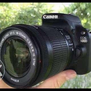 Canon EOS 100D (Complete Kit)