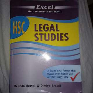 Excel HSC Legal Studies Textbook