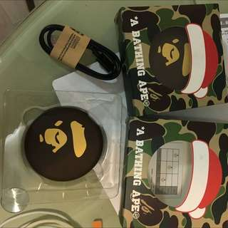 A Bathing Ape Bape Warmer Power Bank 暖蛋 尿袋
