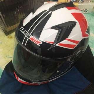 LS2 全罩式安全帽 + LS2安全帽保護套
