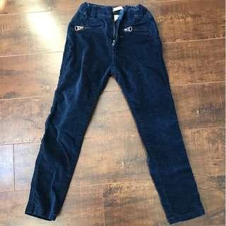 Zara girls blue pants