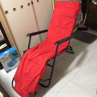 Brand New Red Foldable Recliner
