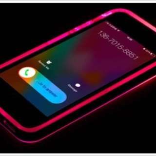 LED Pink Light Up iPhone 6 Case