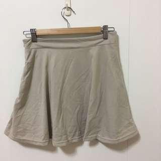 二手-米色短裙