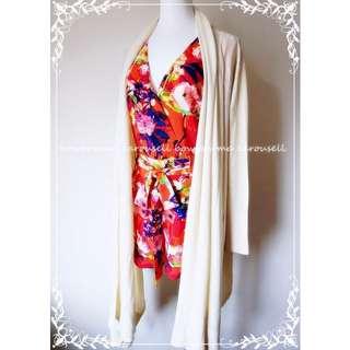 已售出 @heart0517~專櫃全新!NLW Chiffon Jumpsuit 精品花卉雪紡連身褲