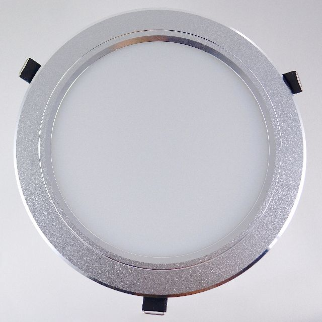 4 INCH 8W JANUS SILVER RECESSED LED DOWNLIGHT