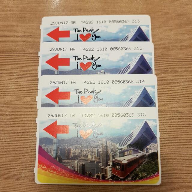 4 Peak Tram Hong Kong - Return Ticket