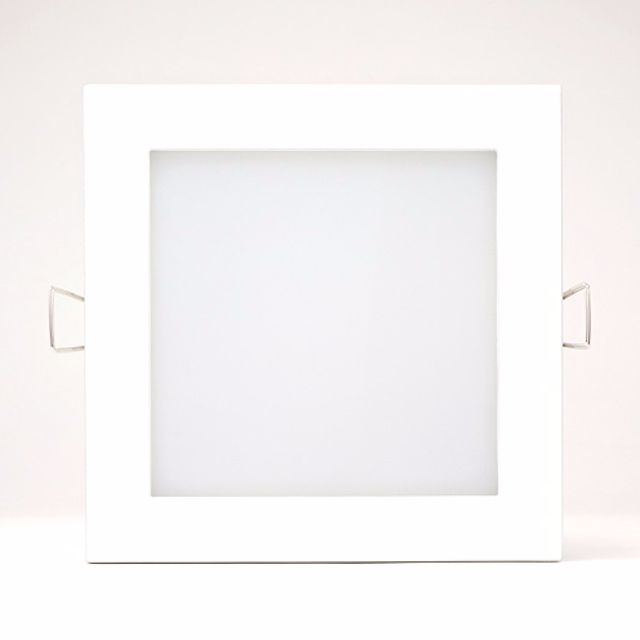 6 INCH 12W FLUSH SQUARE RECESSED LED DOWNLIGHT