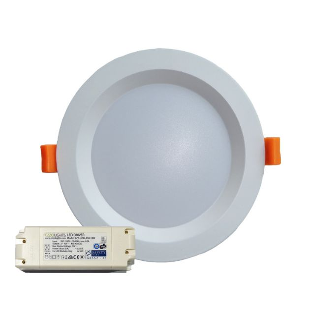 6 INCH 12W POLLUX ROUND RECESSED LED DOWNLIGHT