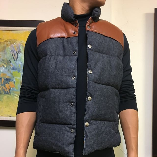 90%new 6rageblue保暖背心外套 L號 $300