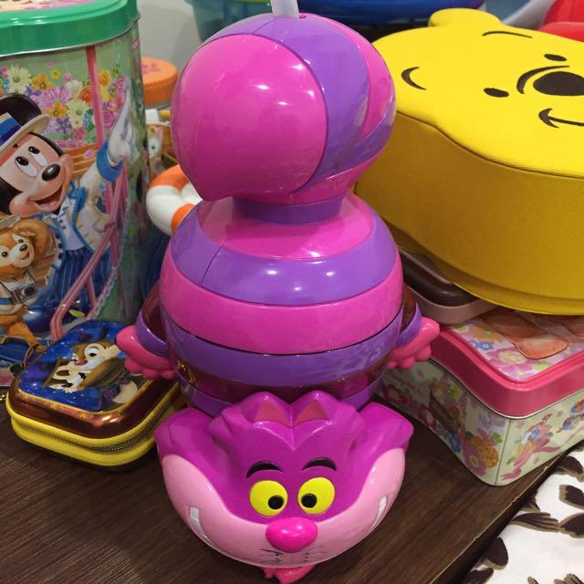 迪士尼妙妙貓水壺