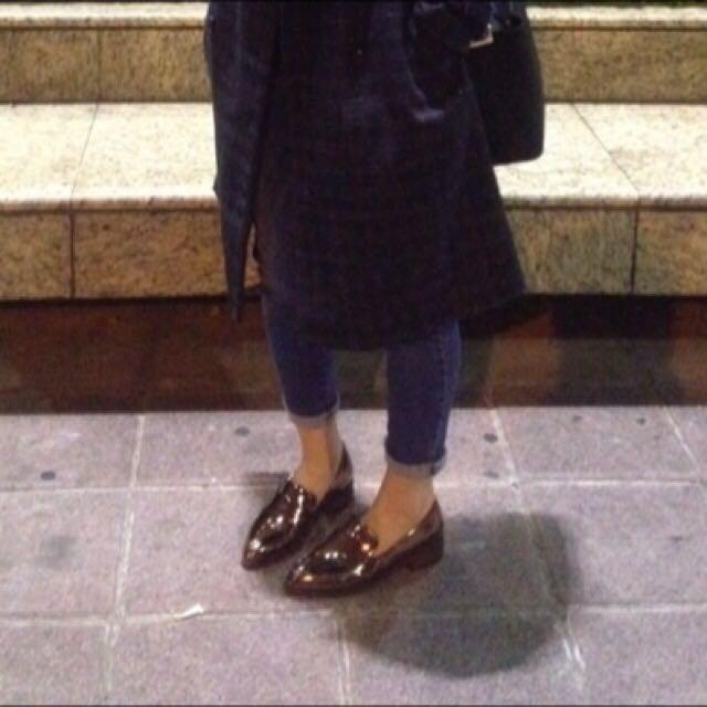 *正韓*紳士亮皮鞋37#運費我來出
