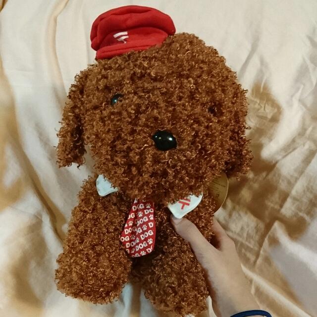 紅貴賓娃娃(大)🐶