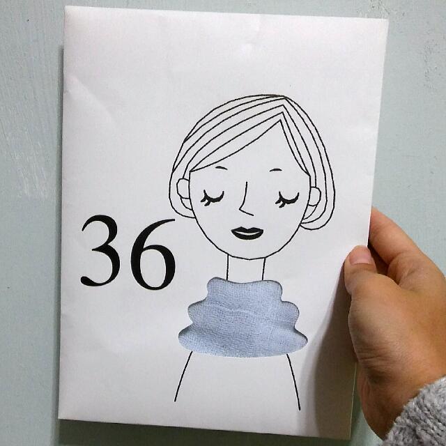 日本帶回 36g 超輕圍巾