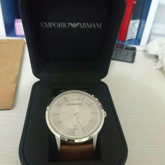 亞曼尼手錶 九成新