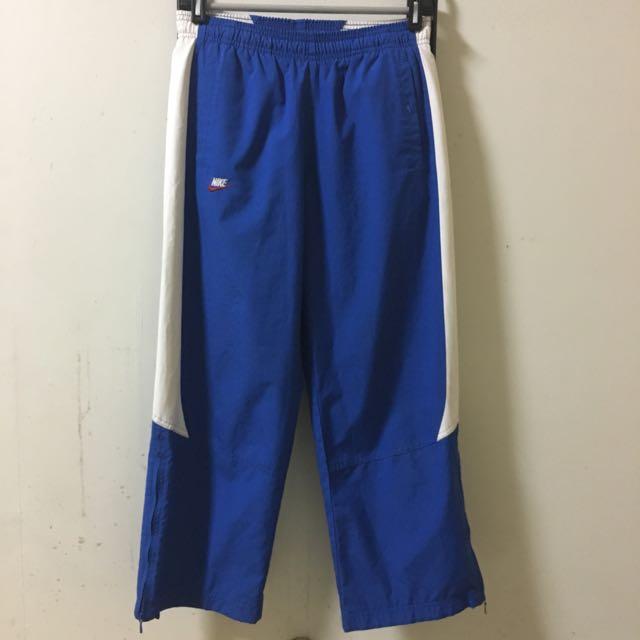 古著 Nike 寶藍 運動褲 vintage