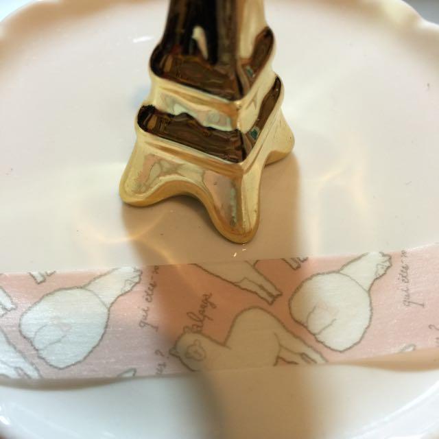 紙膠帶分裝-可愛羊駝 日本salut!當店限定 一單100cm