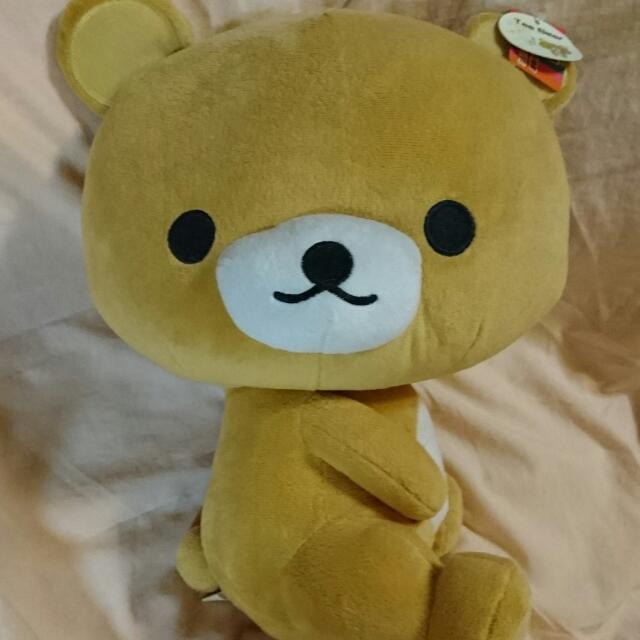 拉拉熊(大) Tea Bear 輕鬆熊 玩偶 娃娃