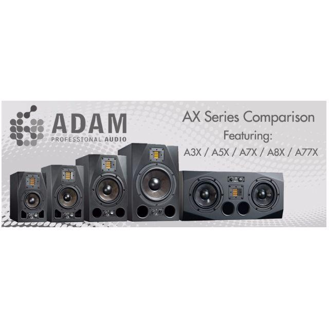 [ASK FOR BLACK FRIDAY PROMO TILL 25TH NOV] Adam Audio AX Series Nearfield Studio Monitor Speakers