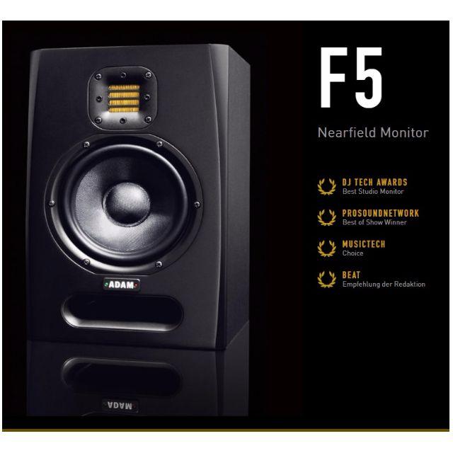 [ASK FOR BLACK FRIDAY PROMO TILL 25TH NOV] Adam Audio F5 Nearfield Studio Monitor Speakers