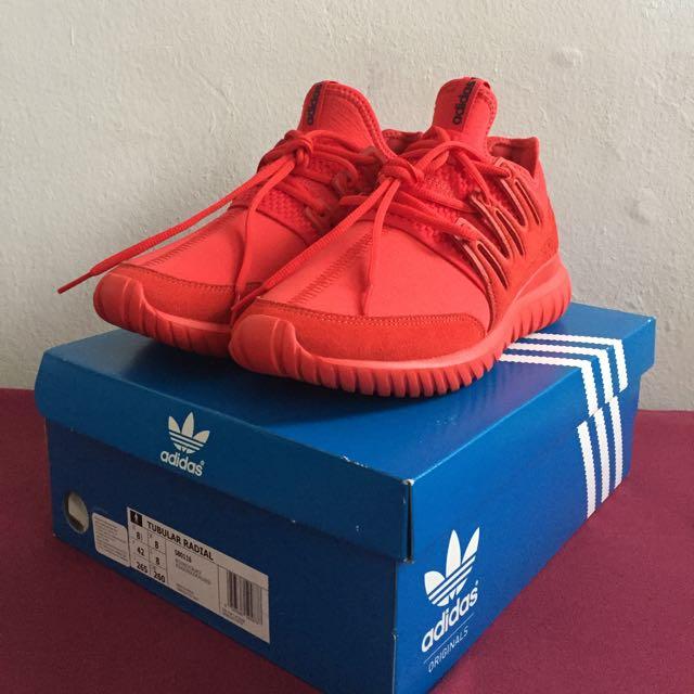 outlet store 4768c b178c Adidas Original Tubular Radial 'Red October'