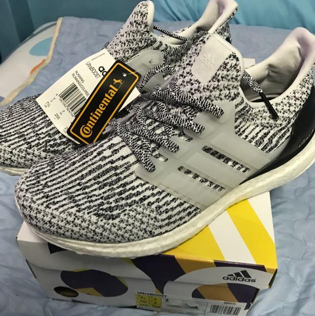 3de358a77bb34 Adidas Ultra Boost 3.0 Oreo Zebra