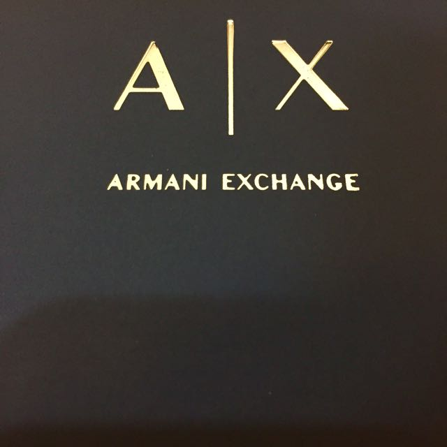 A/X ARMANI EXCHANGE筆記本(黑色)