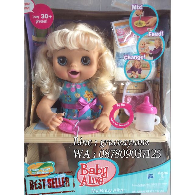 Baby Alive Talking To Pee And Poop