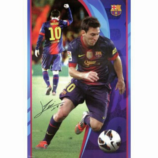 Large Messi Poster