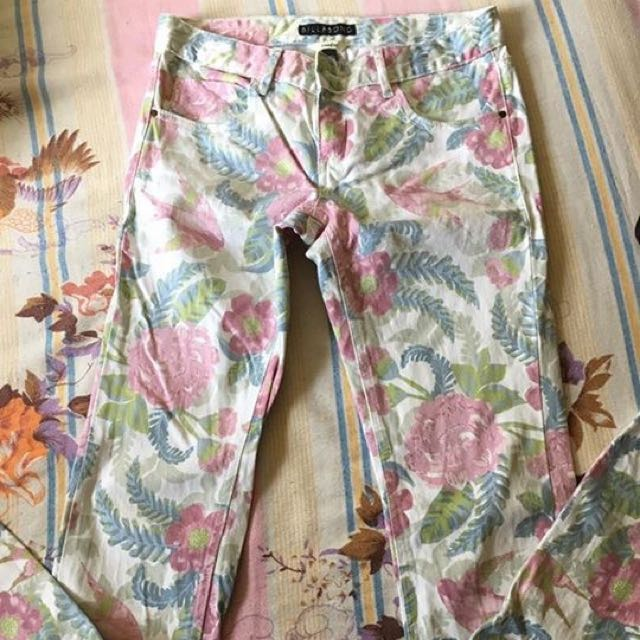 Billabong Floral Pants