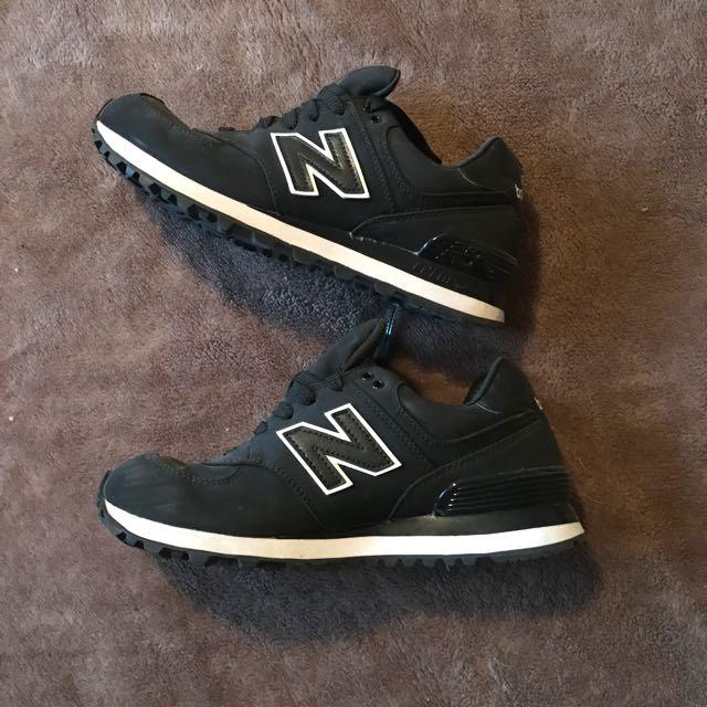 Black And White New Balance