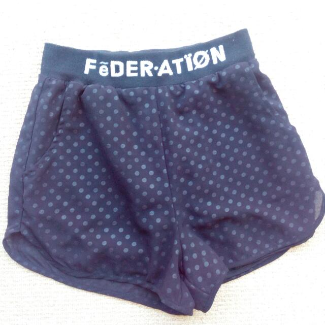 Black Federation Shorts