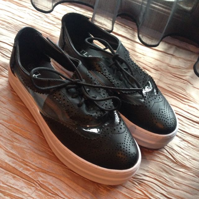 (NEW) Black Oxford Shoes