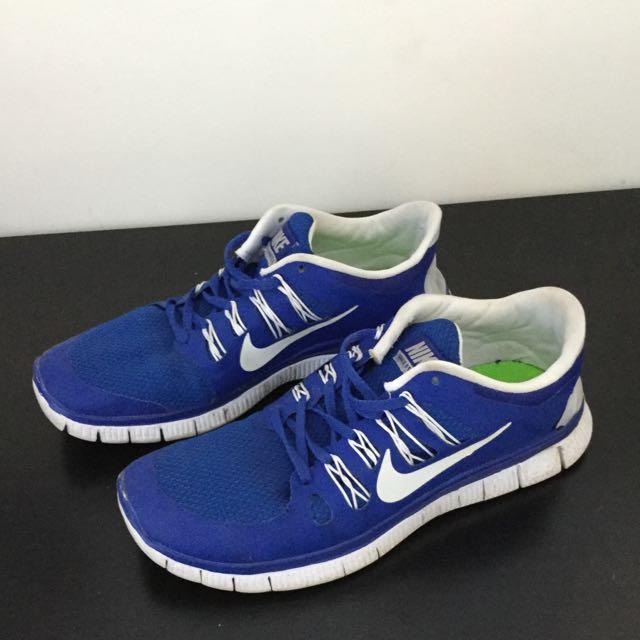 Blue And White Nike Free Runs