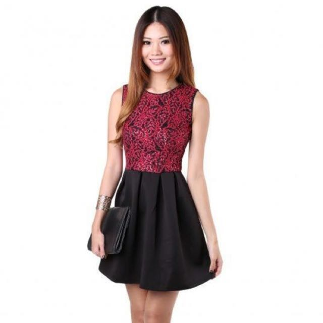 BNIB MGP - Julianda Dress in Red (Size: M)
